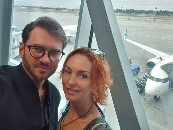 хореограф Дмитрий Дикусар и актриса-комик Виктория Булитко