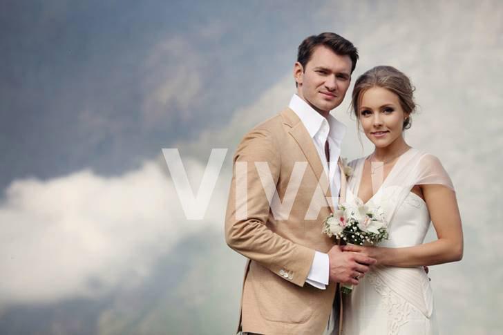 танцовщики Дмитрий Дикусар и Алена Шоптенко, свадебное фото