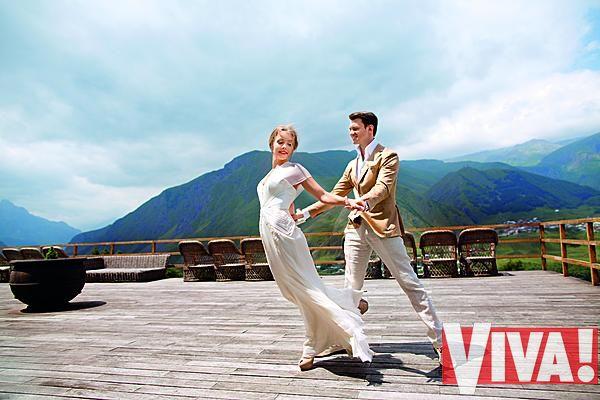 танцовщики Алена Шоптенко  и Дмитрий Дикусар, свадебное фото
