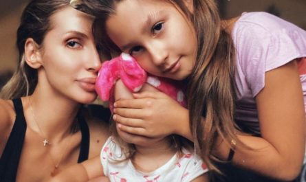 Светлана Лобода и ее дочери Евангелина и Тальда