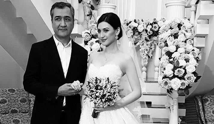 Равшан Юлдашев и его дочь Лола