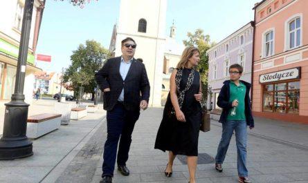 Михаил Саакашвили, Сандра Рулофс и Николоз