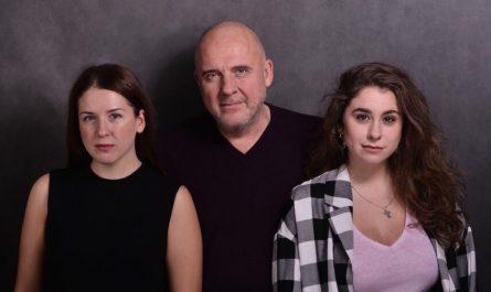 Нина, Иван и Кира Щеголевы