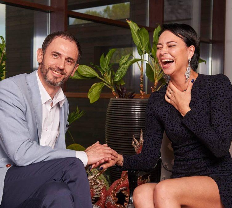 Настасья Самбурская и Олег Морозов