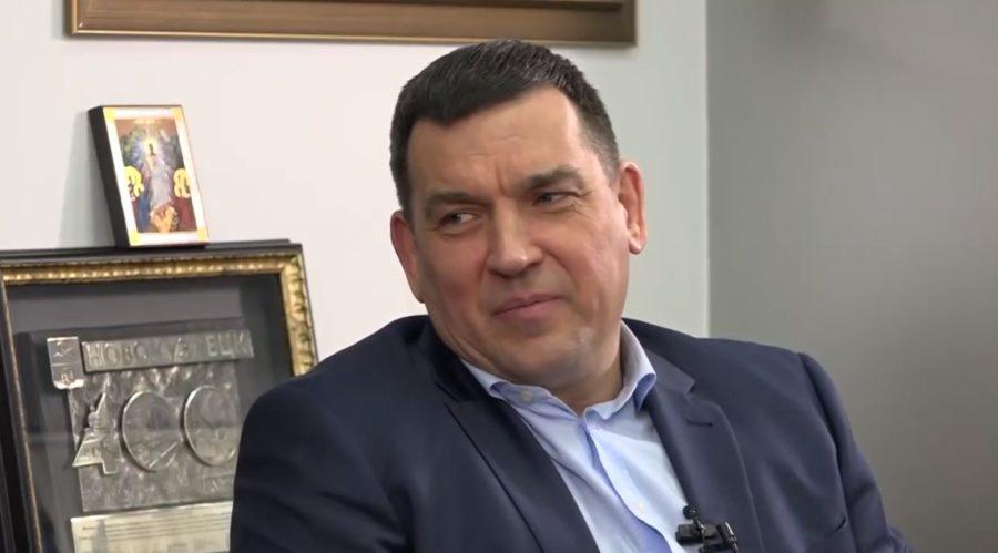 Мэр Новокузнецка Сергей Кузнецов