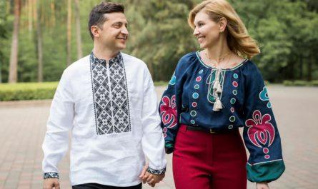 Владимир и Елена Зеленские
