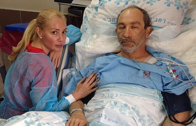 Оксана Гайсинская и Геннадий Кернес в 2014 году