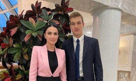 Наиля Аскер-заде и Николай Лукашенко