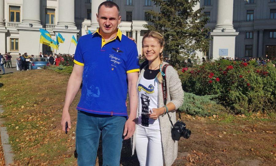 Олег Сенцов и Юлия Бабич