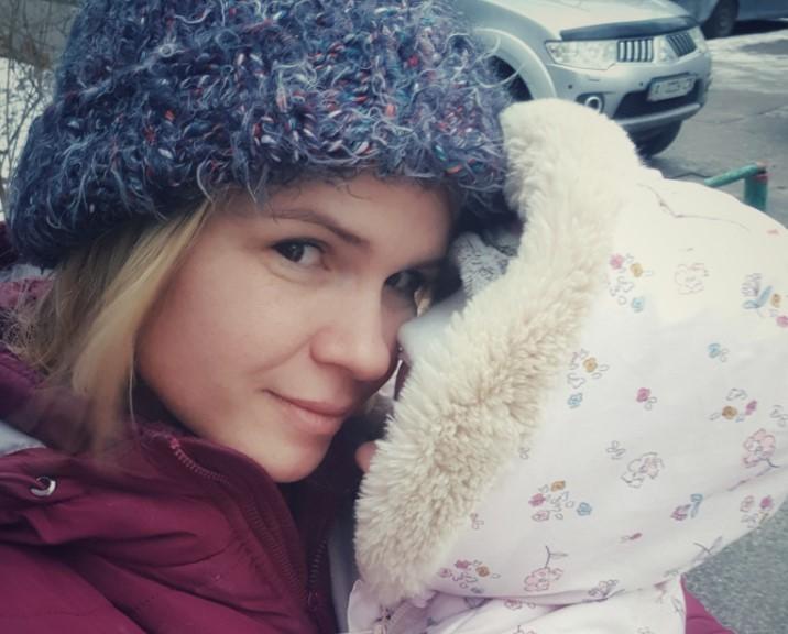 Юлия Бабич и Эмма, дочь Олега Сенцова