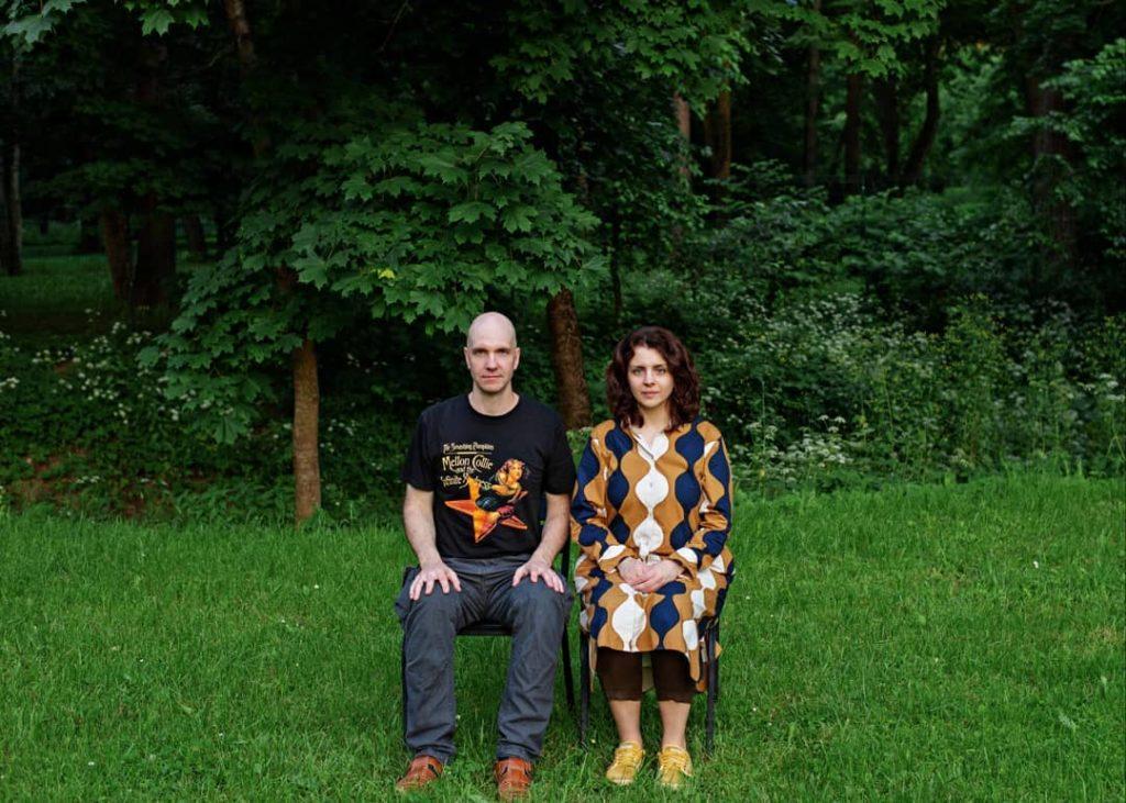 Василий Куравлев с женой Марией