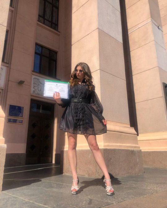 Мария-Барбара Андреевна Кузьменко, дочь Кузьмы Скрябина
