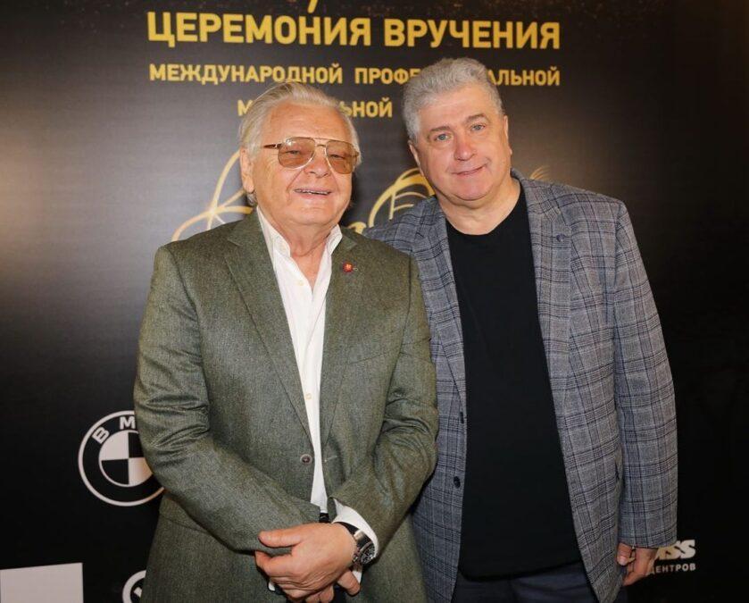 Юрий Антонов слева. 5 апреля 2021 года