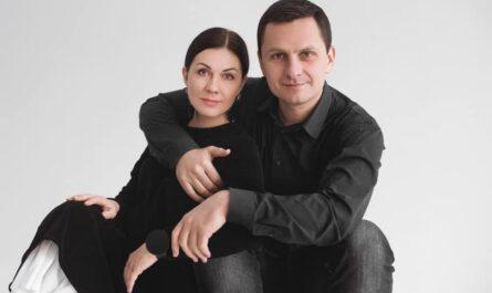 Виталий Даниленко с женой Юлией