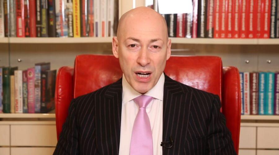 Дмитрий Гордон. Кадр из его видео