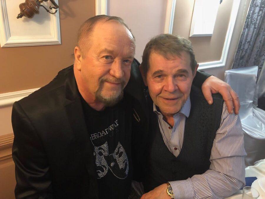 Леонид Борткевич (слева) и Алексей Булдаков