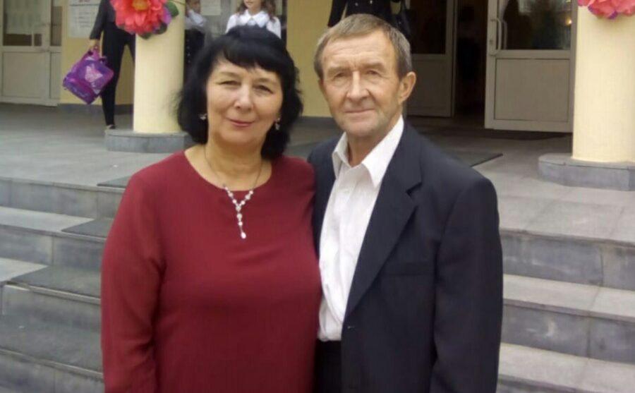 Альфия Мустафина и Мулланур Мостафин