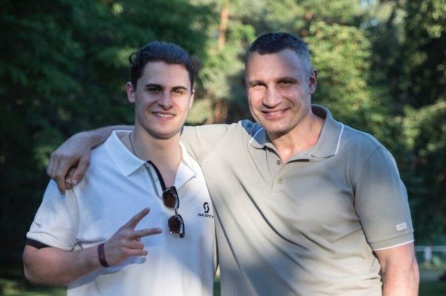 Егор-Даниэль и Виталий Кличко
