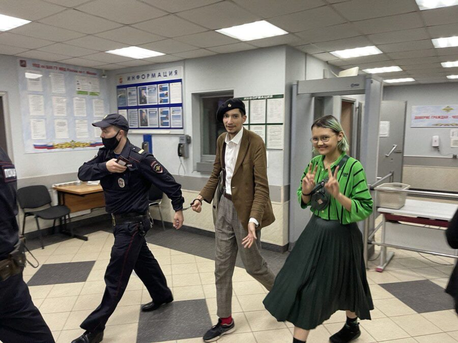 Павел Крисевич и Ника Самусик