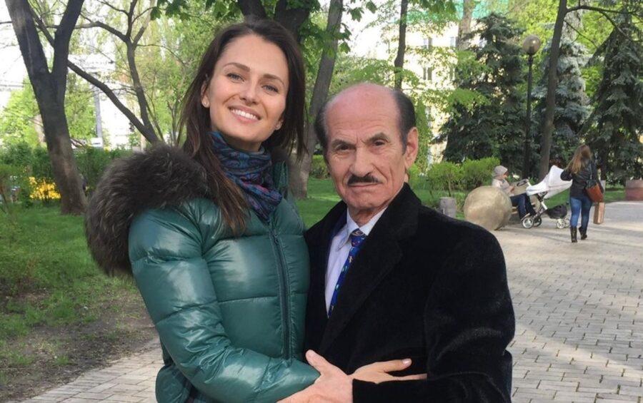 Анна Сафрончик и Григорий Чапкис