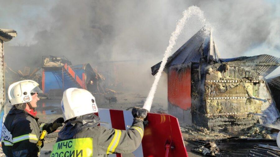 Взрыв на АЗС в Новосибирске 14 июня 2021 года