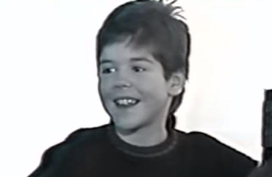 Егор Башлачев. Кадр из передачи «Антропология» 1998 года