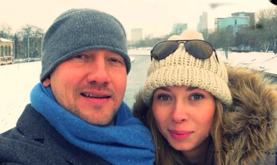 Михаил Штырлин с женой