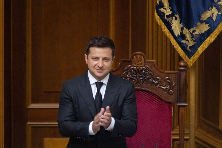 Владимир Зеленский 28 июня 2021 года