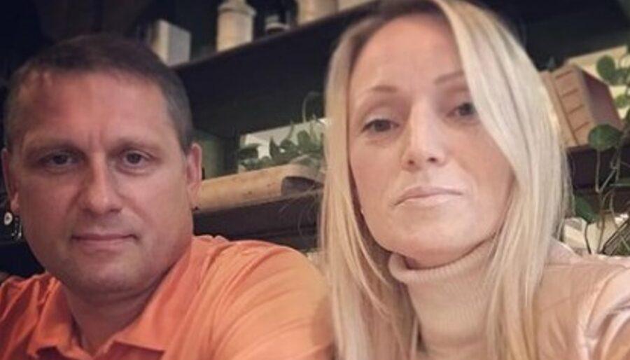 Наталья Липская с мужем