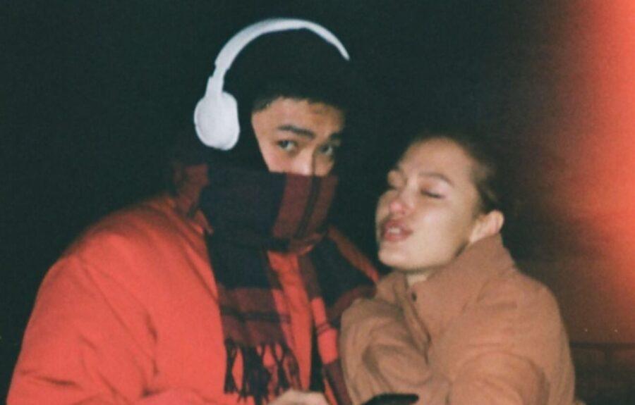 Кристина Лисина с возлюбленным Рустамом