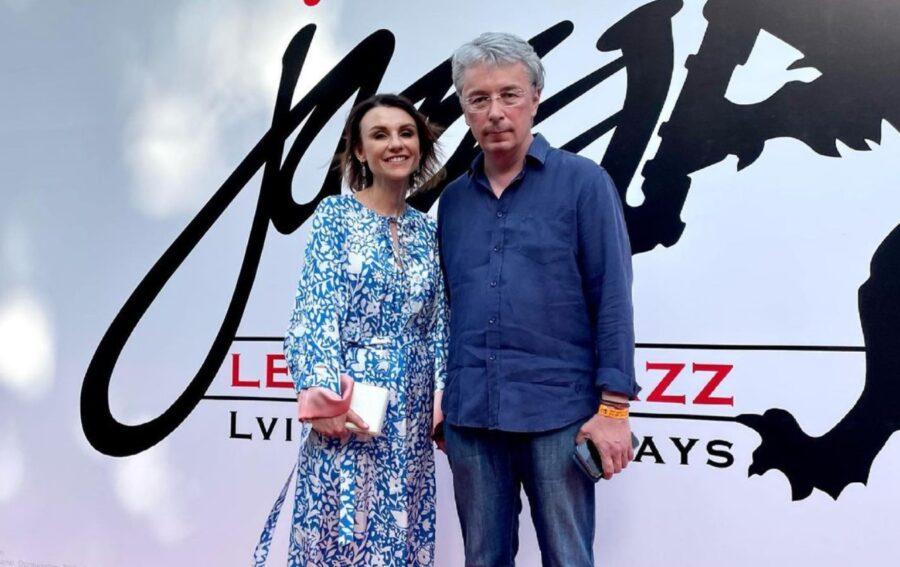 Александр Ткаченко с супругой