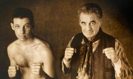Жан-Поль Бельмондо с сыном Полем