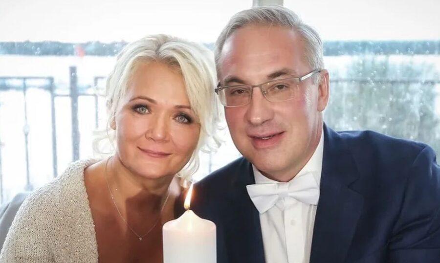 Ирина Бородина и Андрей Норкин