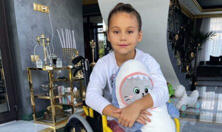 Дочь Джигана и Оксаны Самойловой Лея